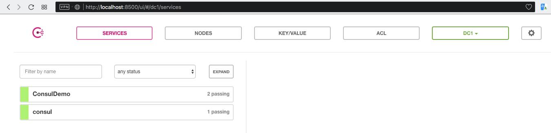 Share app's configuration with Consul - ServoCode